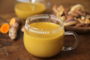 vegan low carb golden milk
