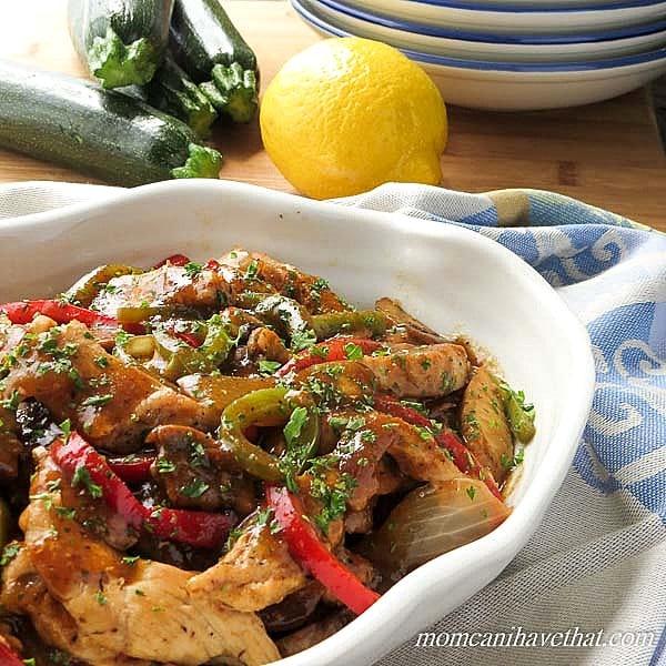 Marsala Chicken And Sausage Dish