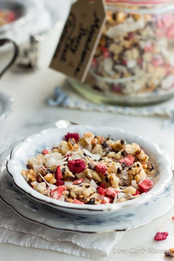 Macadamia Berry Blast Granola
