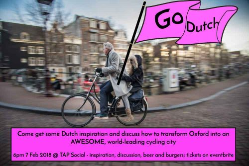 Going Dutch: learning from Groningen's cycling city success @ Tap Social