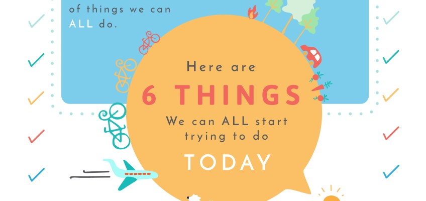 6 things we can all start doing today – an empowering pamphlet for kids