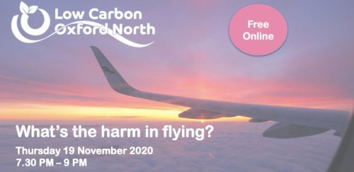 What's the harm in flying? [Free online LCON event] @ Online event