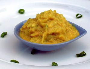 Creamy Crispy Curry Cabbage 2