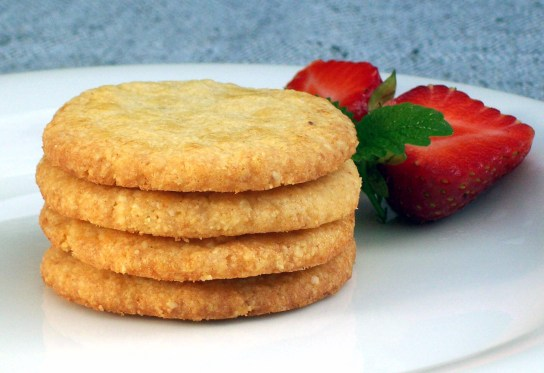 A Pile of Vanilla Toffee Butter Cookies