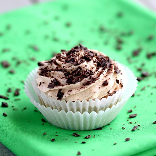 Sugar-Free Irish Coffee Frosting for St. Paddy's Day   Low-Carb, So Simple!