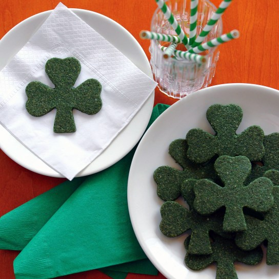 Gluten-Free, Sugar-Free Shamrock Cookies | Low-Carb, So Simple!