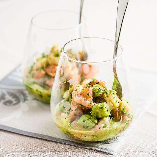 Shrimp, Avocado and Red Grapefruit - Low-Carb, So Simple! -- gluten-free, sugar-free recipes ...