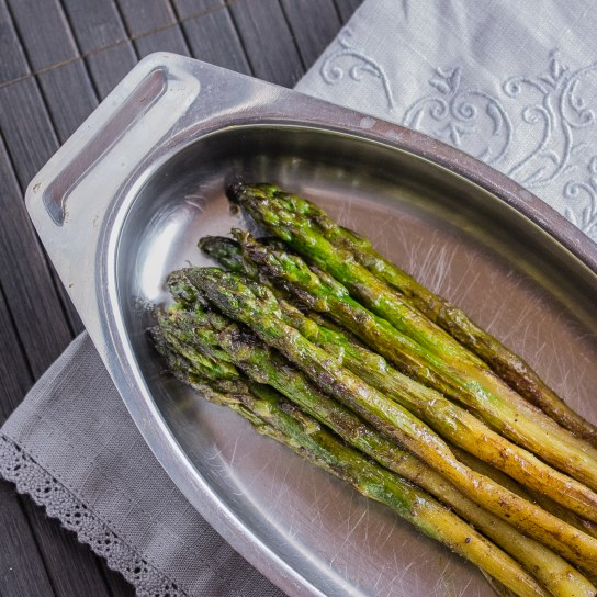 Smoky Asparagus with Garam Masala   Low-Carb, So Simple!