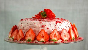 Strawberries And Cream Frosting | Low-Carb, So Simple
