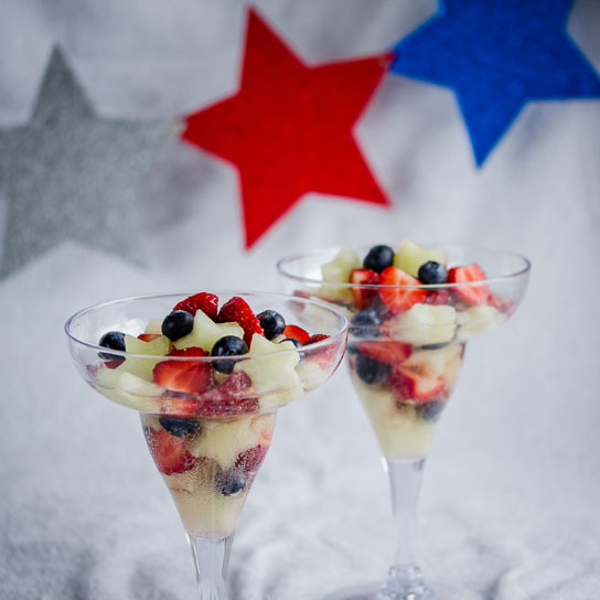 Red, White and Blue for 4th July | Low-Carb, So Simple!