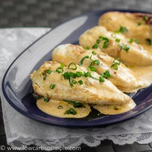 Chicken in Creamy Green Onion Sauce   Low-Carb, So Simple!