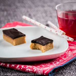 Palatable Peanut Butter Bars   Low-Carb, So Simple!