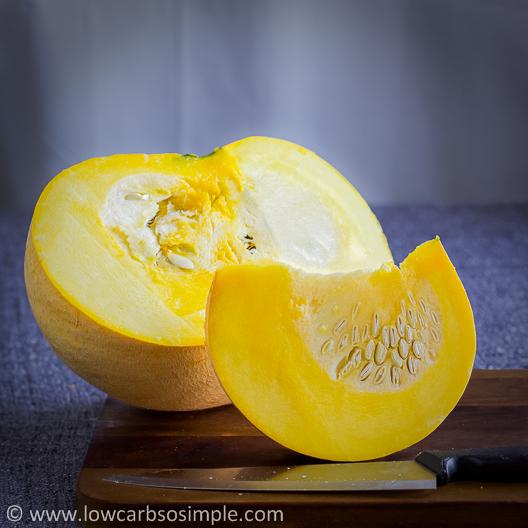 Pumpkin Half and Slice | Low-Carb, So Simple!