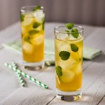 Refreshingly Pepperminty Iced Tea