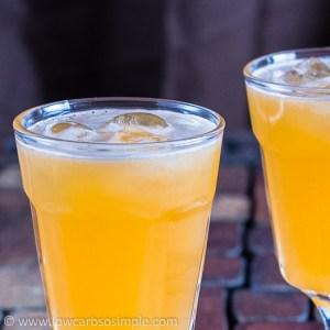 Sugar-Free Cantaloupe Agua Fresca | Low-Carb, So Simple!