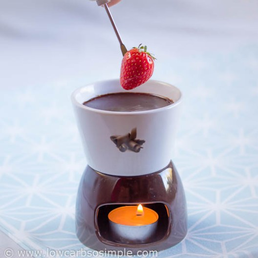 Sugar-Free Hot Fudge Sauce | Low-Carb, So Simple!