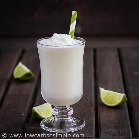 Coconut Lime Slush Lassi Style | Low-Carb, So Simple!