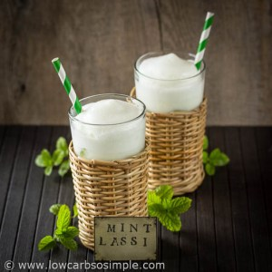 Low-Carb Mint Lassi | Low-Carb, So Simple!