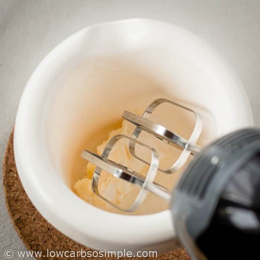 Making Toasted Pecan Butter; Starting to Beat the Mixture with an Electric Mixer | Low-Carb, So Simple!