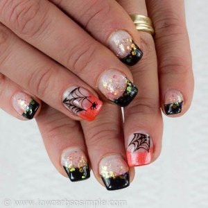 Halloween Nails | Low-Carb, So Simple | Taru Civil Hoitola Hile
