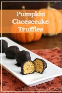 Pumpkin-Cheesecake-Truffles | AllDayIDreamAboutFood