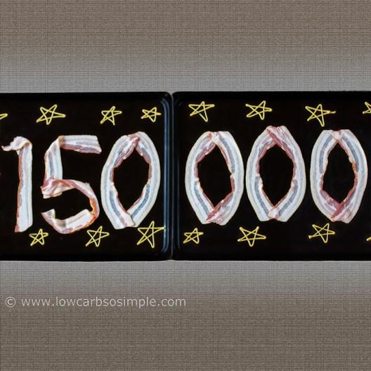 Image of the 150,000 FB fan celebrations