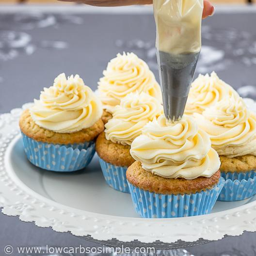 Image of Luscious GF SF Cupcakes | Low-Carb, So Simple