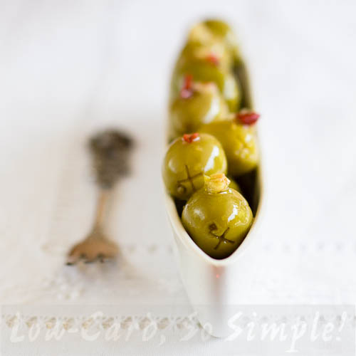 "Marinated Olives on my Kindle Book ""Easy Everyday Recipes"" 