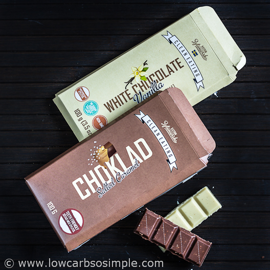 KZ Clean Eating White Chocolate and Salted Caramel Milk Chocolate | Low-Carb, So Simple