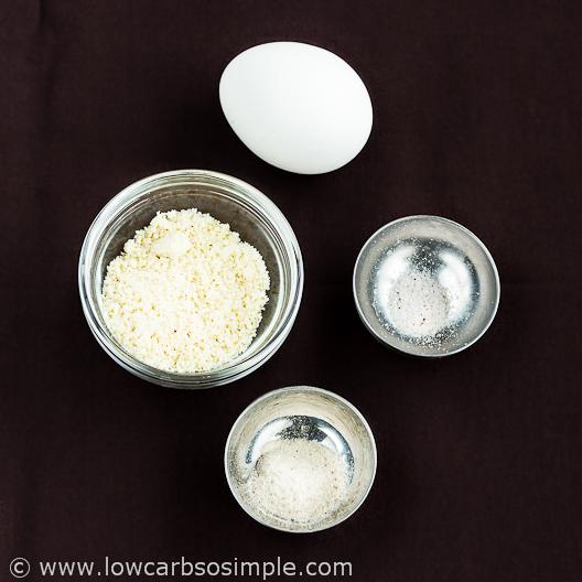 2-Minute 3-Ingredient Low-Carb Tortillas; Ingredients| Low-Carb, So Simple
