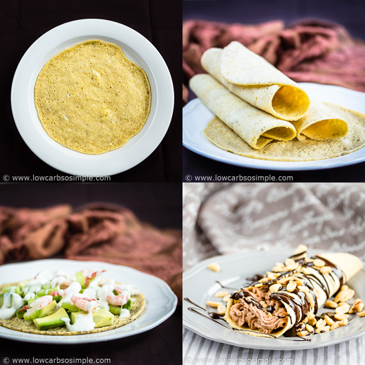 2-Minute 3-Ingredient Low-Carb Tortillas | Low-Carb, So Simple