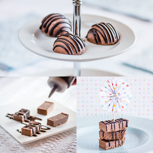Irresistibly Easy No-Sugar Nutella Fudge; Collage | Low-Carb, So Simple