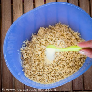 Buffalo Cauliflower; Adding Garlic Powder; Low-Carb, So Simple