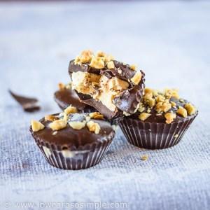 Frozen Peanut Butter Cups | Low-Carb, So Simple