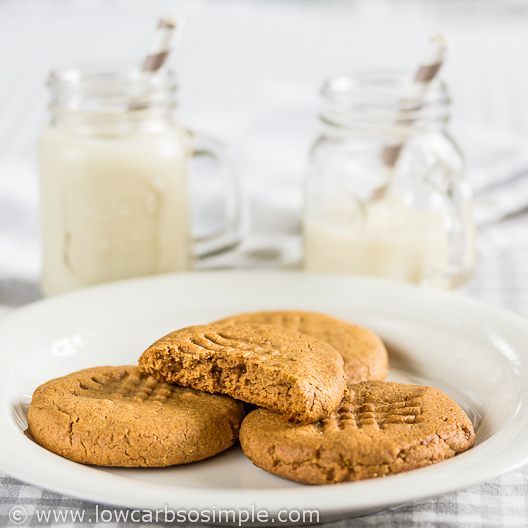 2-Ingredient Peanut Butter Cookies | Low-Carb, So Simple
