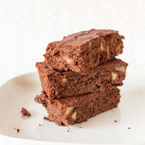 Easy Fudgy Brownies from Low-Sugar, So Simple Book