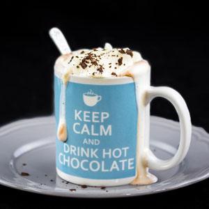 Creamy No-Sugar Hot Chocolate from Low-Sugar, So Simple Book