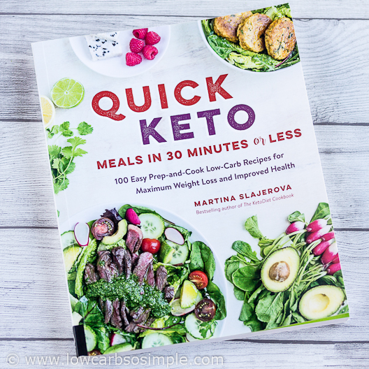 Chorizo Egg Muffins from Quick Keto Meals book; The Book | Low-Carb, So Simple