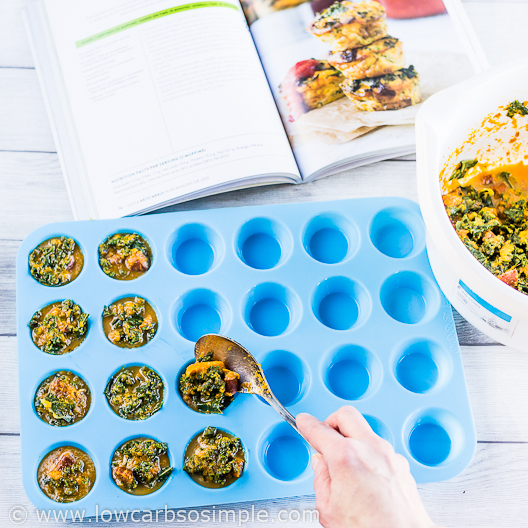 Chorizo Egg Muffins from Quick Keto Meals book; Spooning | Low-Carb, So Simple