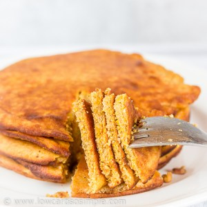 Fluffy 5-Ingredient Pumpkin Pancakes; Ultimate Pancake Yum! | Low-Carb, So Simple