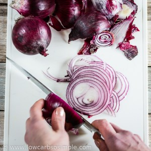Cutting Red Onion | Low-Carb, So Simple