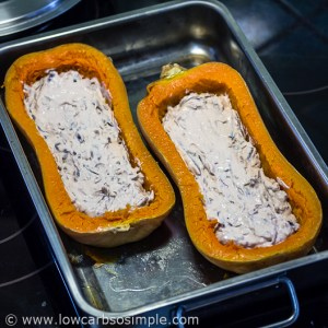 Filled Butternut Squash | Low-Carb, So Simple