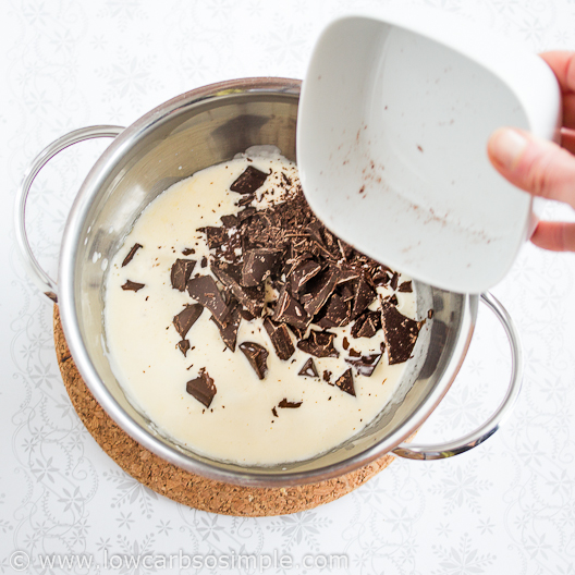 Adding Chocolate | Low-Carb, So Simple
