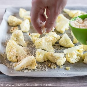 Sprinkling Parmesan | Low-Carb, So Simple