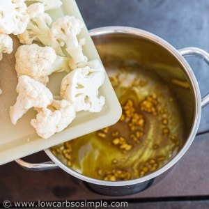 Adding Cauliflower | Low-Carb, So Simple