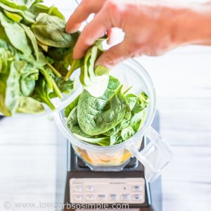 Adding Spinach | Low-Carb, So Simple