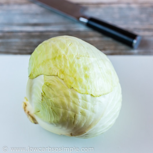 Cabbage Head   Low-Carb, So Simple