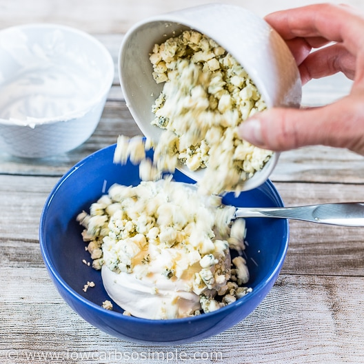 Adding Blue Cheese   Low-Carb, So Simple