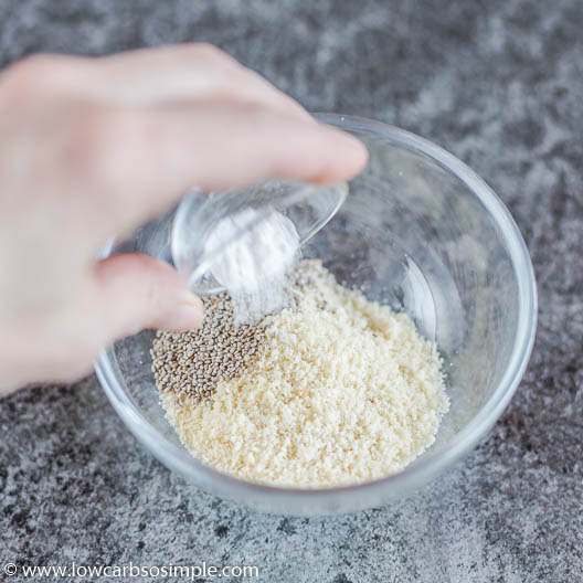 Adding Baking Powder | Low-Carb, So Simple