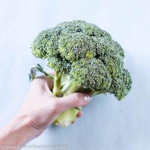 Grabbing Broccoli | Low-Carb, So Simple